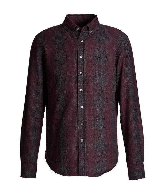 Plaid Cotton-Flannel Shirt picture 1