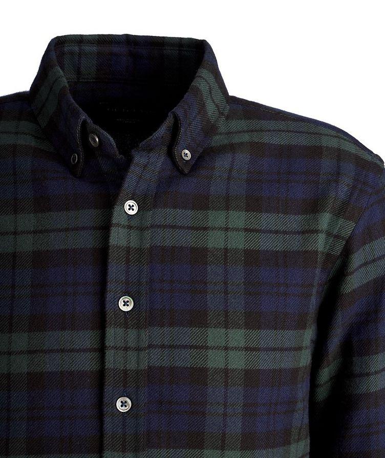 Chemise en flanelle de coton à carreaux image 1