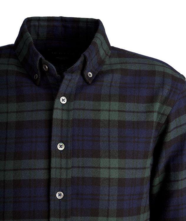 Chemise en flanelle de coton à carreaux picture 2