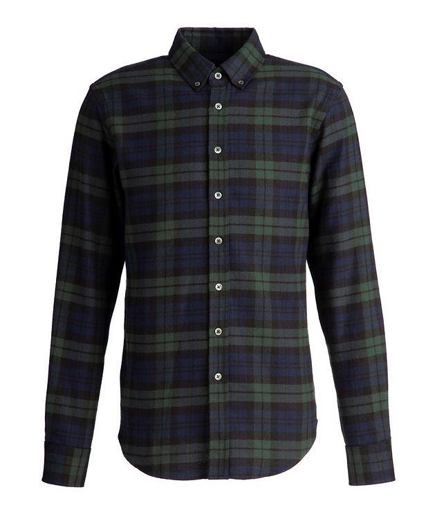 Chemise en flanelle de coton à carreaux picture 1