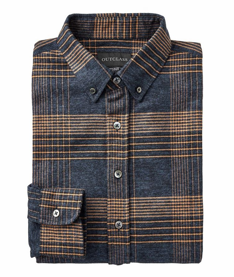 Patchwork Cotton-Flannel Shirt image 0
