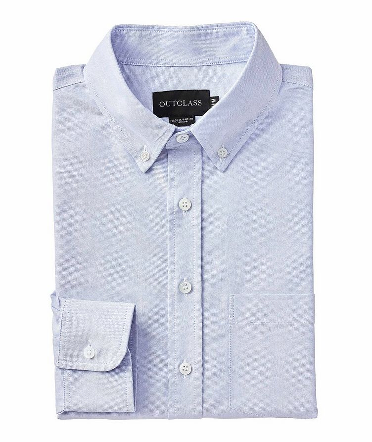 Contemporary Fit Oxford Cotton Shirt image 0