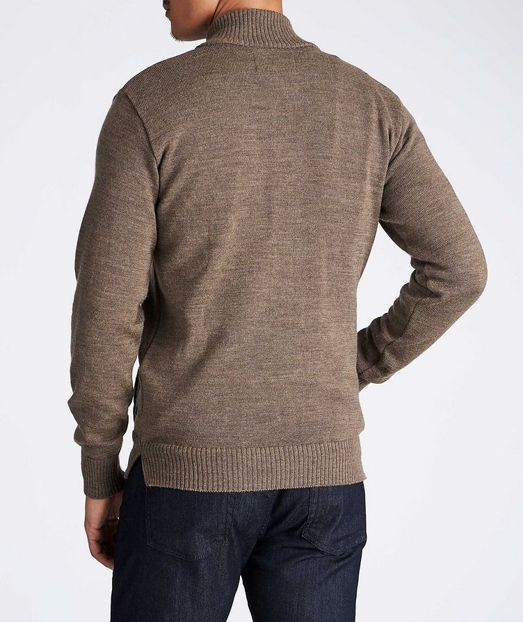 Knitted Wool Cardigan image 1