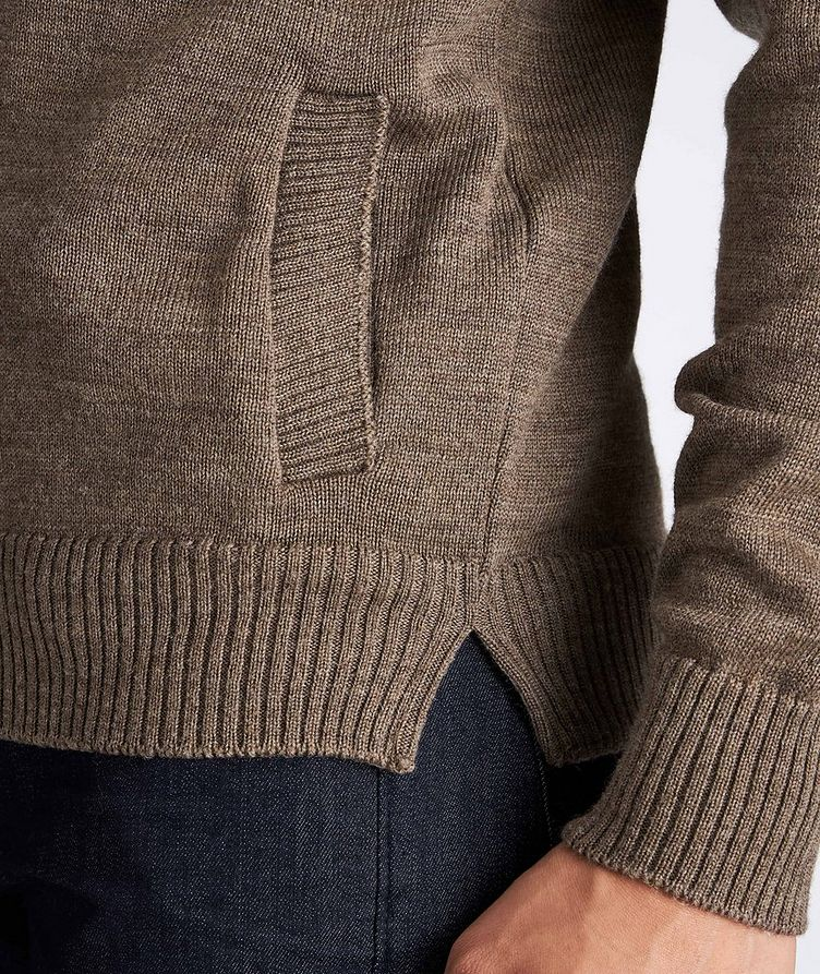 Knitted Wool Cardigan image 2