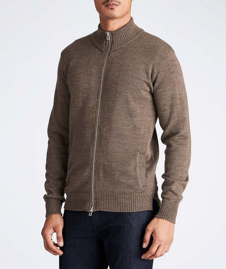 Knitted Wool Cardigan image 0