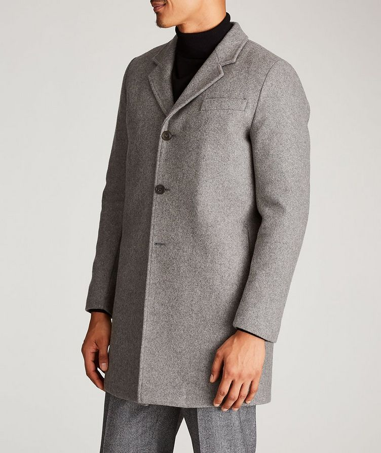 Wool-Blend Driving Coat image 1