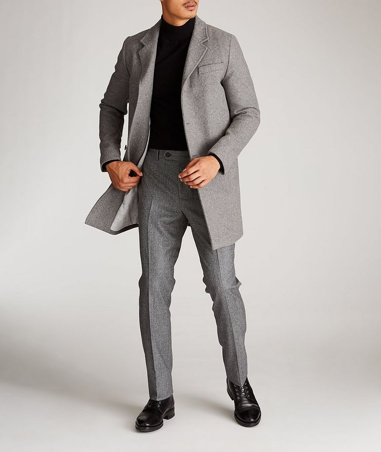 Wool-Blend Driving Coat image 3