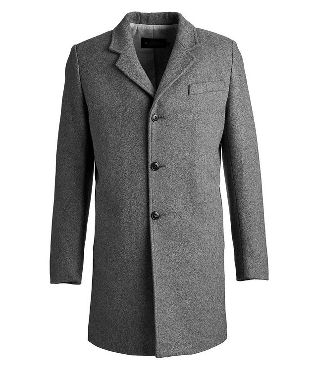 Wool-Blend Driving Coat picture 1