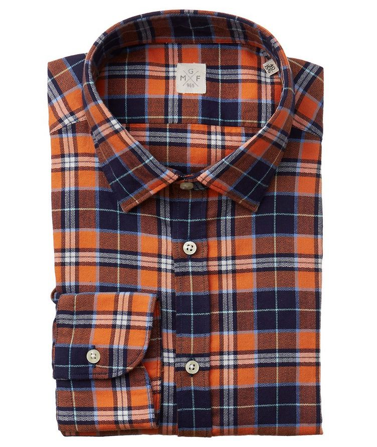 Plaid Cotton Shirt image 0