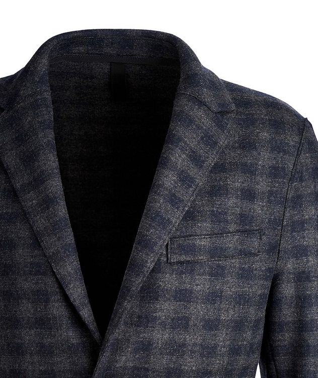 Checkered Wool Sports Jacket picture 2