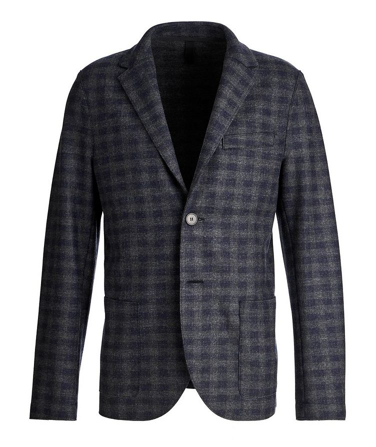 Checkered Wool Sports Jacket image 0