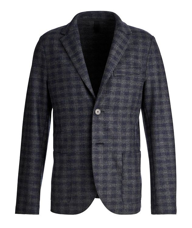 Checkered Wool Sports Jacket picture 1