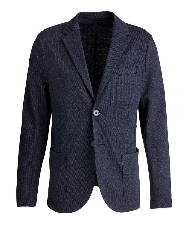 Wool-Cotton Twill Sports Jacket picture 1