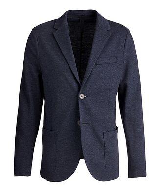 Harris Wharf London Wool-Cotton Twill Sports Jacket