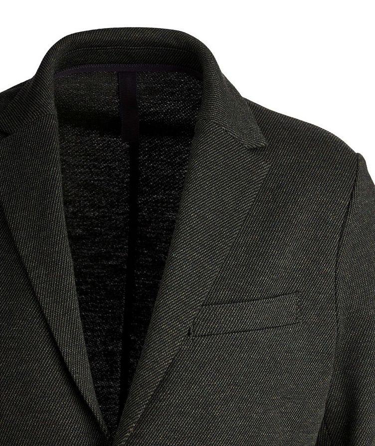Veston non structuré en laine et coton image 1
