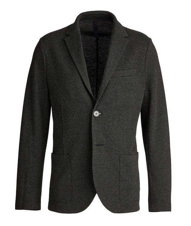 Veston non structuré en laine et coton picture 1