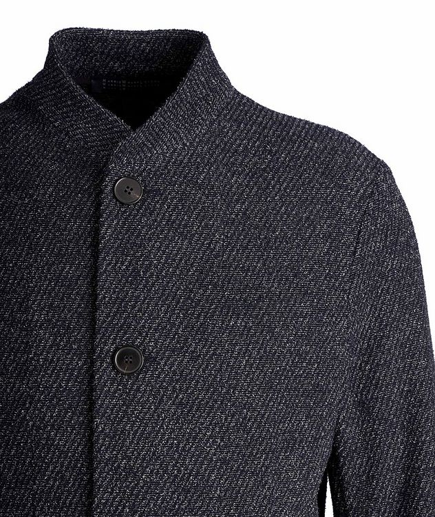 Wool-Cotton Cardigan Sports Jacket picture 3