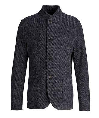 Harris Wharf London Wool-Cotton Cardigan Sports Jacket