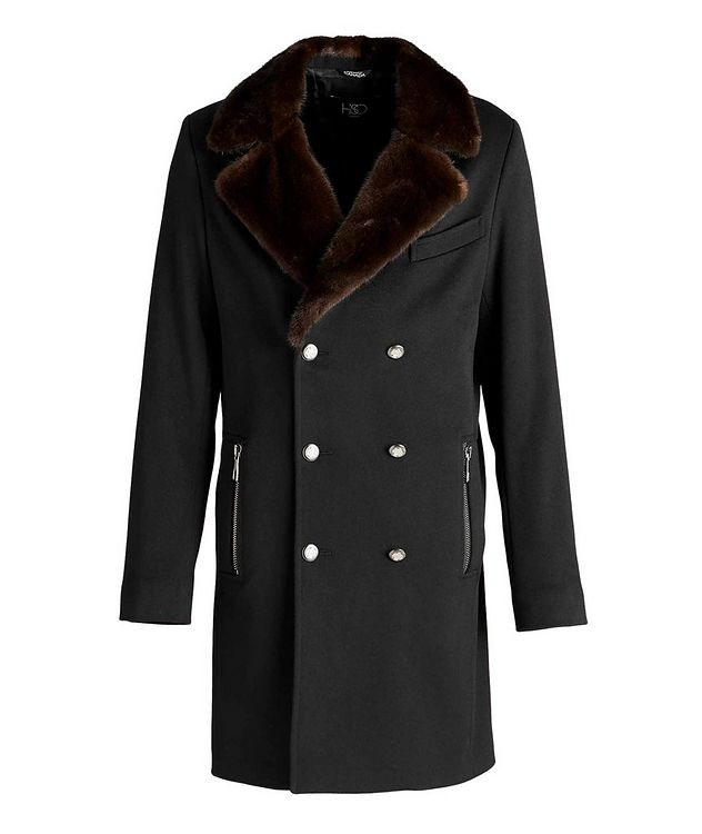 Double-Breasted Wool Overcoat  picture 1