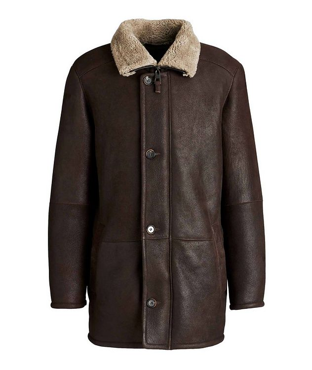 Jakos Shearling Coat picture 1