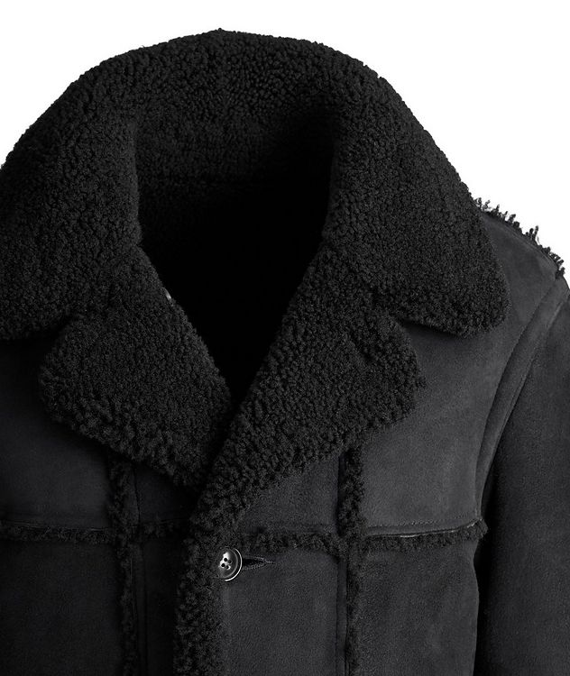 Lyle Reversible Shearling Jacket picture 2