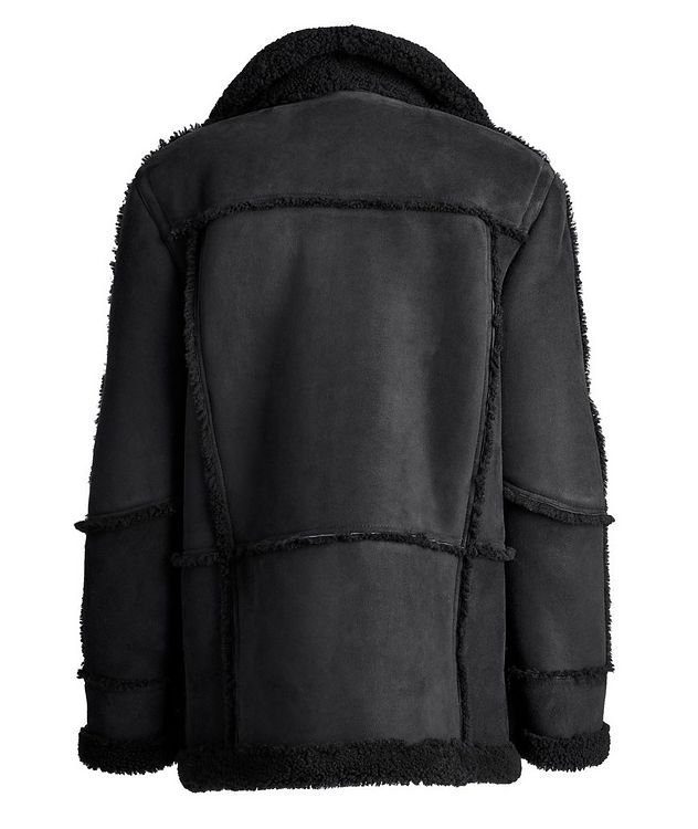 Lyle Reversible Shearling Jacket picture 3