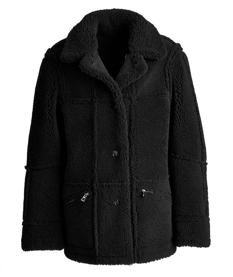Lyle Reversible Shearling Jacket image 3