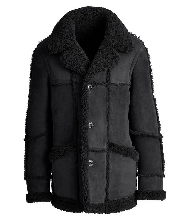 Lyle Reversible Shearling Jacket picture 1