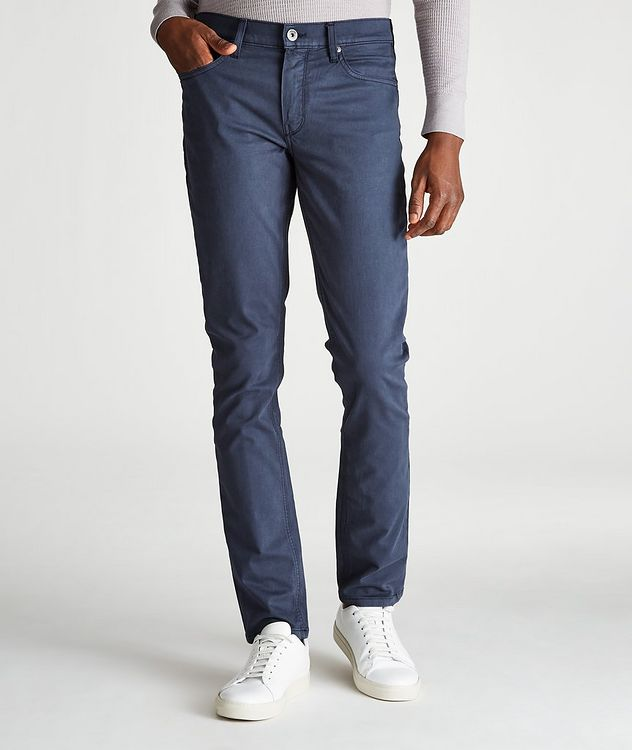 Lennox Slim-Fit Five-Pocket Jeans picture 1