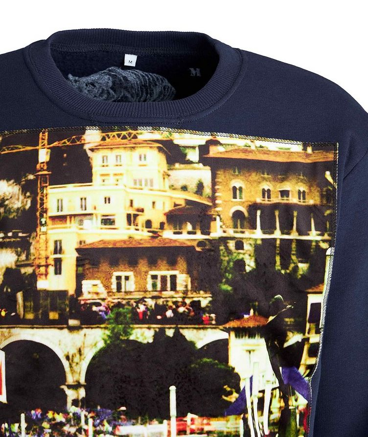 GP Monaco-Printed Cotton Sweatshirt image 2