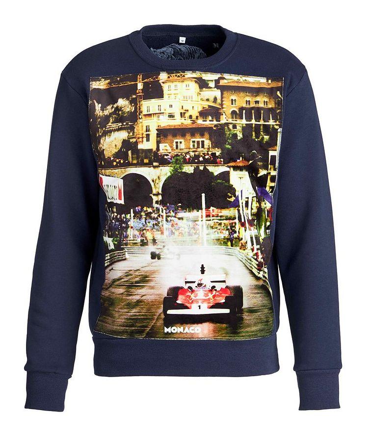 GP Monaco-Printed Cotton Sweatshirt image 0