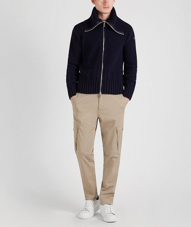 Zip-Up Wool Sweater picture 6