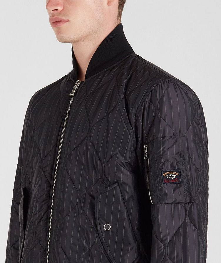 Wave-Quilted Bomber image 1