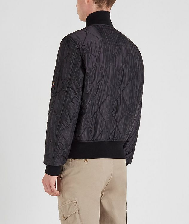 Wave-Quilted Bomber picture 3