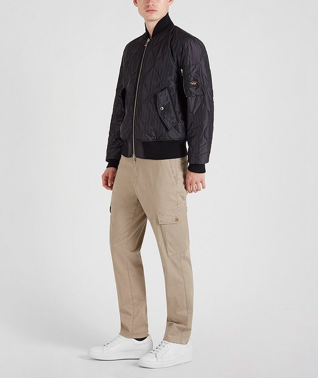 Wave-Quilted Bomber picture 4