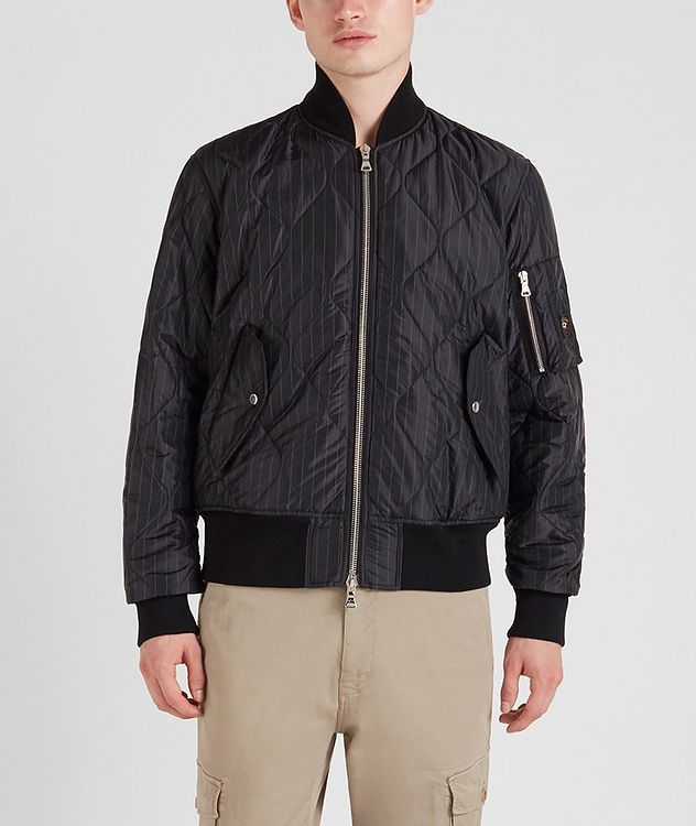 Wave-Quilted Bomber picture 1