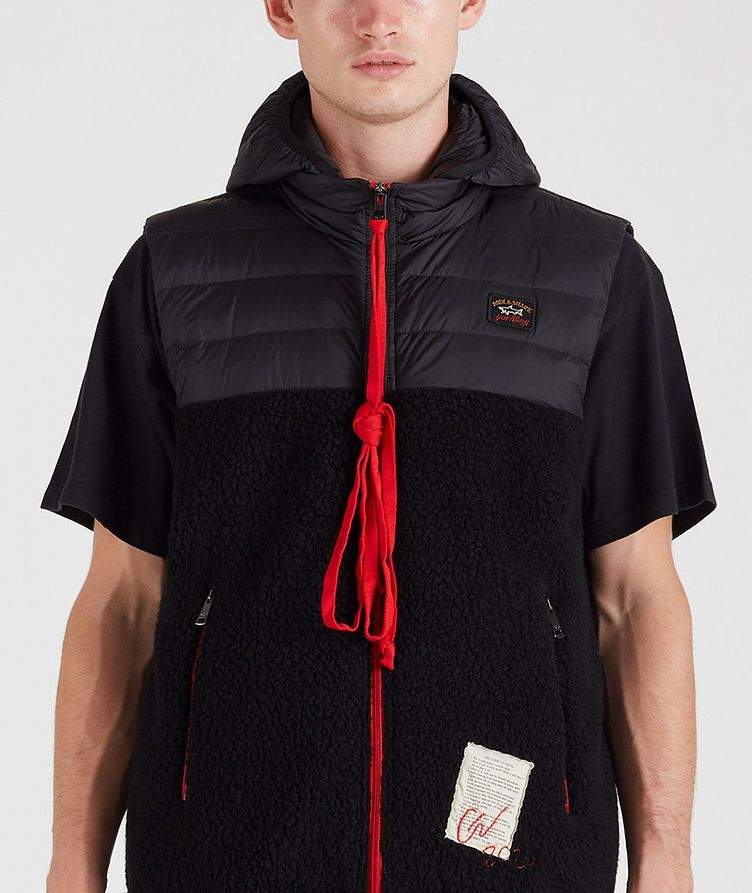 Ultra-Light Down Wool-Blend Sherpa Vest image 4