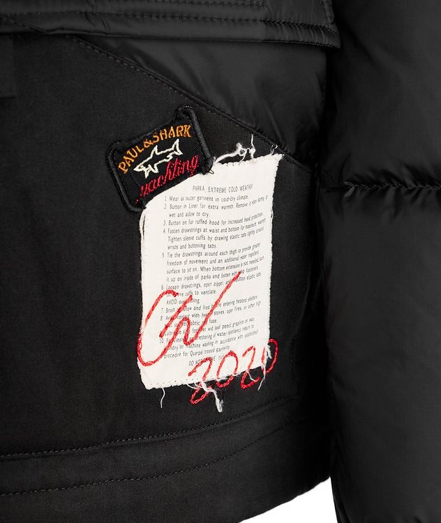 Greg Lauren Quilted Puffer Jacket picture 3