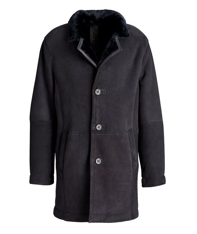 Benedikt Suede-Shearling Coat picture 1
