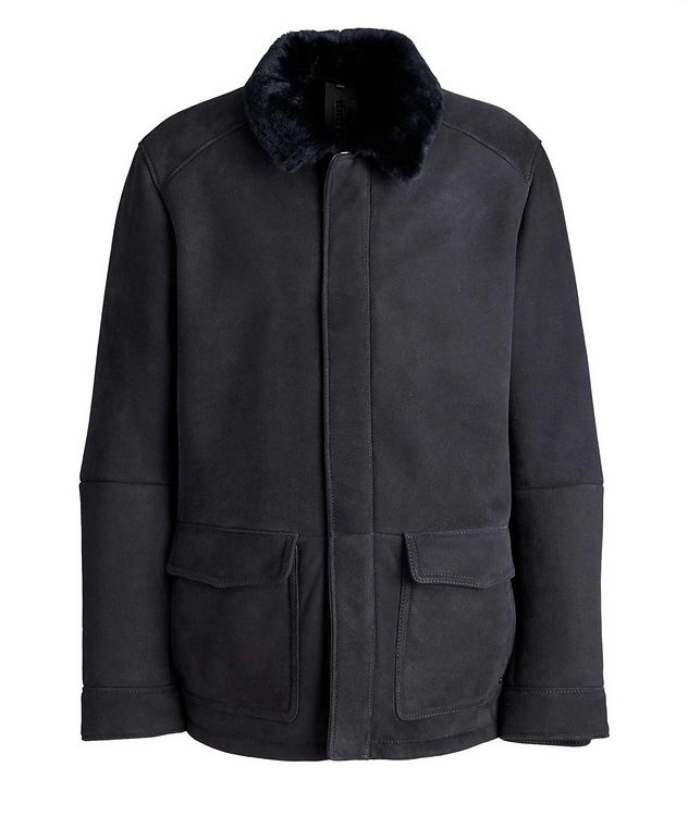 Leto Suede-Shearling Coat picture 1