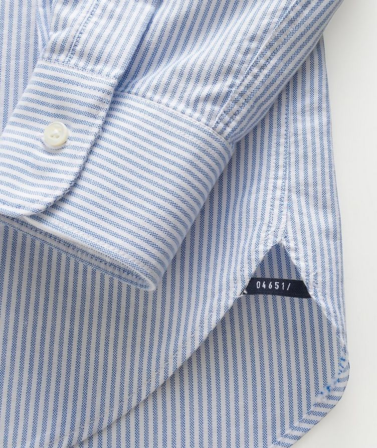 Striped Oxford Cotton Shirt image 2
