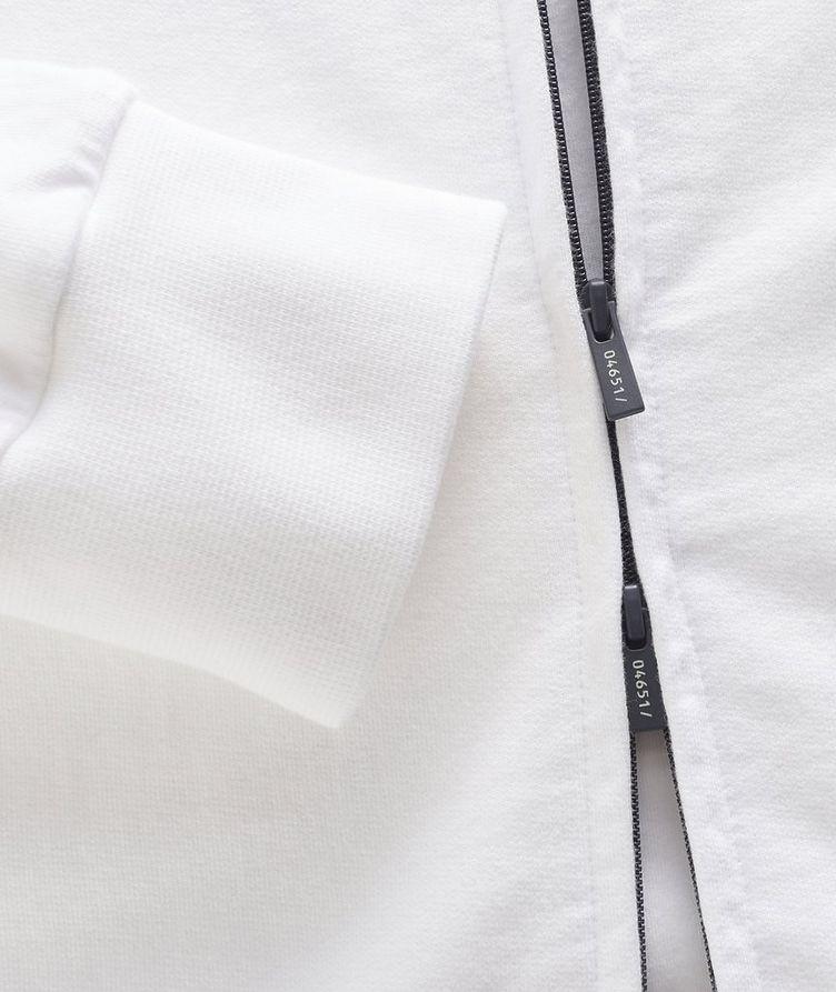 Zip-Up Cotton Hoodie image 3