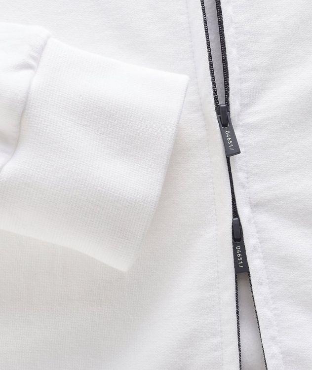 Zip-Up Cotton Hoodie picture 4