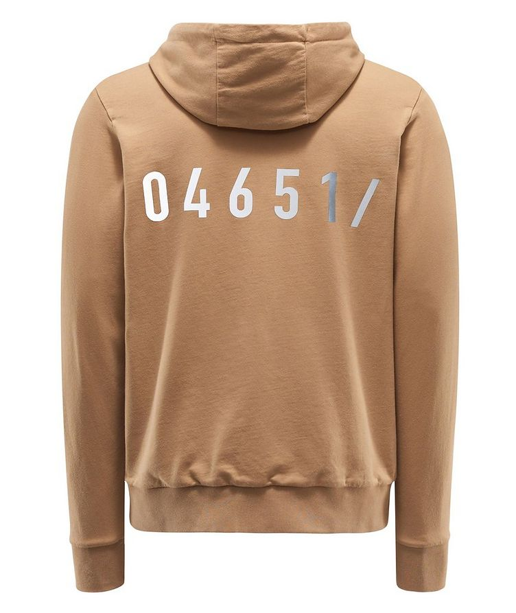 Zip-Up Cotton Hoodie image 1