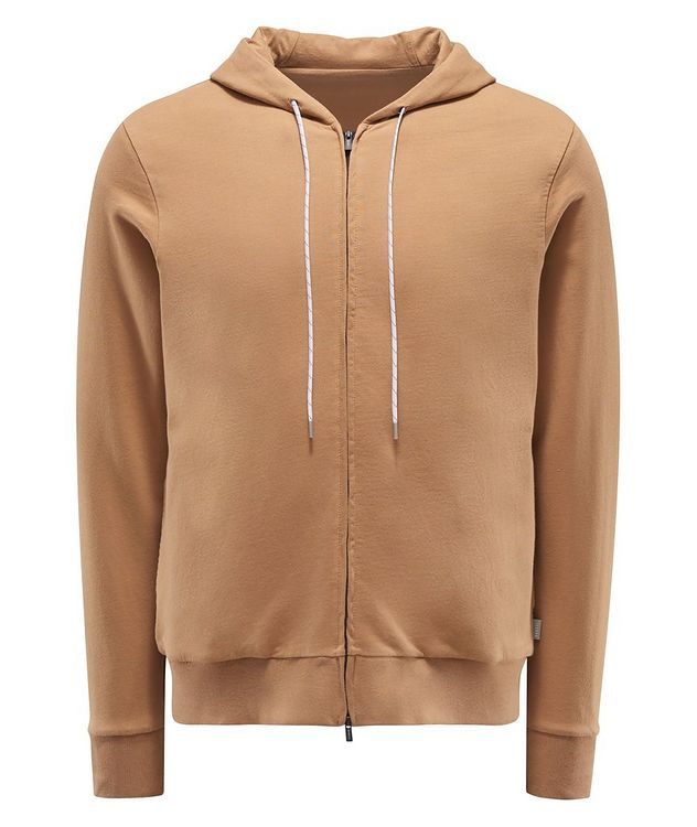 Zip-Up Cotton Hoodie picture 1