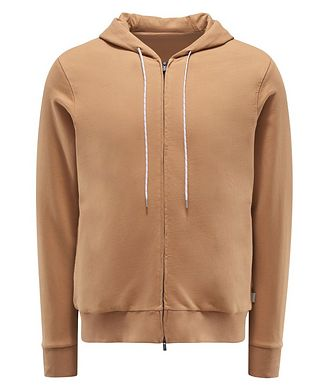 0 4 6 5 1 / A TRIP IN A BAG Zip-Up Cotton Hoodie