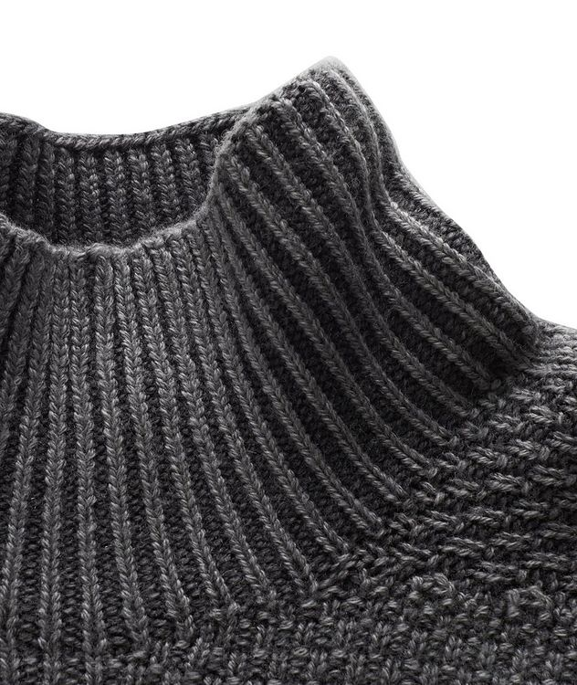 Mélange Wool Turtleneck picture 2