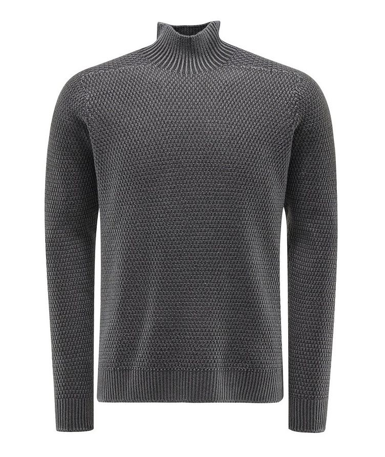 Mélange Wool Turtleneck image 0