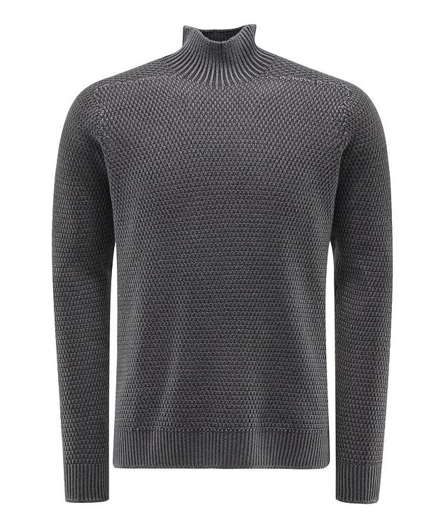 Mélange Wool Turtleneck picture 1