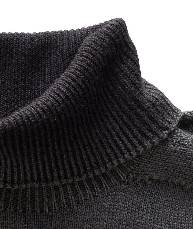 Pull en laine vierge à col roulé picture 2